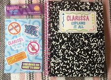 Nickelodeon 90's Nick Box Clarissa Explains It All Notebook And Stickers 2016