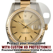 For Rolex Datejust HD Clear Crystal Protector anti-scratch, Date Window Cut out!