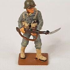 Del Prado - Cpl Marines Guadalcanal US 1942 - Painted Lead Soldier