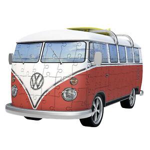 NEW! Ravensburger VW Kombi Bus 162pc 3D Puzzle