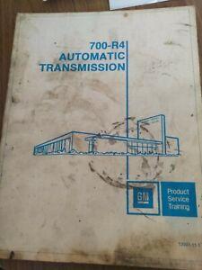 1981 GM 700- R 4 Automatic Transmission Manual