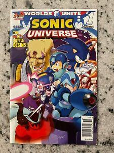 Sonic Universe # 1 VF Archie Comic Book Sega Capcom Megaman Knuckles Action J591
