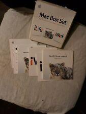 "Software APPLE MAC Box Set. iLife 09, iWork 09, Mac OS X 10.6 ""Snow Leopard"""