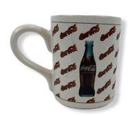 Vintage Coca Cola Mug Cup Coke Gibson 1997 Bottles and Logo