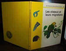 ANCIEN LIVRE . EDITIONS GAMMA . LES OISEAUX .1972. AIGLE PERROQUET TOUCAN PAON