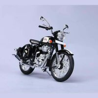 For Royal Enfield Classic 500 1:12 Genuine Scale Model Black AUD