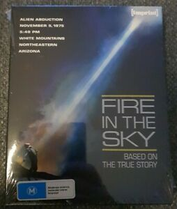 Fire In The Sky Blu-Ray w/ Slipcover Imprint Edition Brand New Sealed