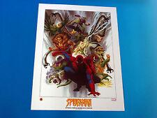 Amazing Spider-Man Deadliest Dozen Lithograph Marvel Comics John Estes Art