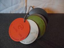 Rare Vintage échantillons 5 couleurs Digitel 2000 CGCT Bailly Comte Lyon