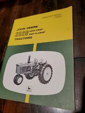 John Deere 2520 Original Operators Manual in great shape