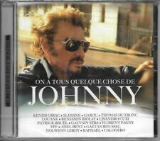 CD 16T ON A TOUS QUELQUE CHOSE DE JOHNNY HALLYDAY BRUEL/CALOGERO/LOUANE/LEROY..