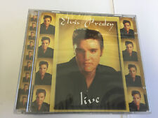 Elvis Presley - Live EAN5029248103422. NEW SEALED.