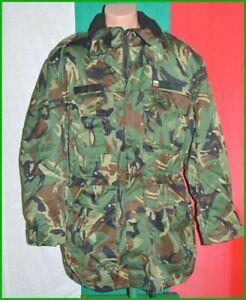 Bulgarian Army Woodland Camouflage Parka Jacket + Liner sz. XL