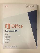 Office Professional 2013 32/64 Bit Eurozone Medialess New Retail Box 269-16093