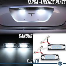 2 PLACCHETTE Luci TARGA LED PER Mercedes Classe C W203 CANBUS 6500K Bianco PURO