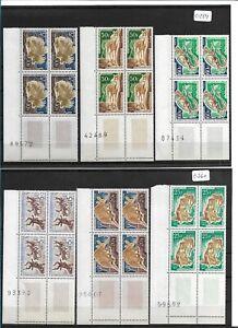 SMT, MAURITANIA ANIMALS LUURY set  of 12 in block of 4, MNH very rare