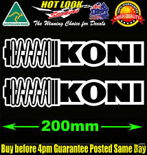 Koni Sticker Bomb X2 Decal JDM Koni Bilstein Coilover Shockers Race Rally Drift