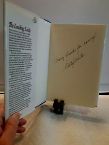 """Betty White signed book """"The Leading Lady"""" autographed"""