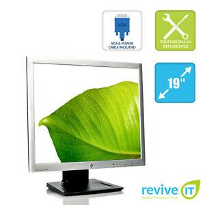 "HP LA1956x 19"" 1280x1024 5:4 LED LCD Backlit Monitor DP DVI VGA USB - Grade A"