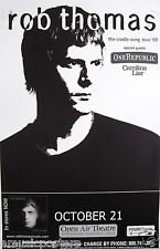 "ROB THOMAS / ONE REPUBLIC ""THE CRADLE SONG TOUR"" 2009 SAN DIEGO CONCERT POSTER"