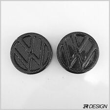 Volkswagen Golf MK4 Strut Cap Covers - Carbon Effect ABS- VW GTI R32 TDI