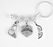 50 Shades of Grey jewelry 50 Shades key chain Domination gift 50 Shades Present