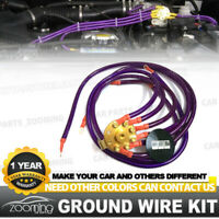 UNIVERSAL 10MM VISION GROUND WIRE SYSTEM KIT BLUE