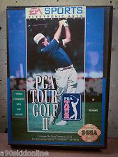 PGA Golf II | SEGA GENESIS | COMPLETE | FREE POST