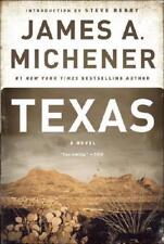 Texas by James A. Michener (author), Steve Berry (introduction)