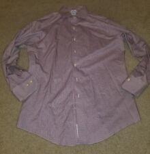 Brooks Brothers Shirt Mens size 16 2/3 Long Sleeve Non-Iron Slim Fit Dress