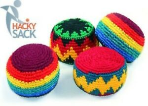Guatemalan Hackey Sack Foot Bag Tribal Hacky Ball Guate Kick Bags Multi-Colored
