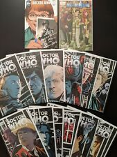 Doctor Who Prisoners Of Time Idw Comic Book Lot #1-12 With Extras