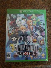 Xbox One: World Of Final Fantasy Maxima Brand New Sealed Free Shipping