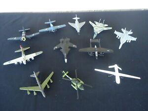 Maisto diecast military airplane helicoptor lot