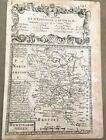 HUNTINGDONSHIRE OWEN BOWEN COUNTY MAP C1720 FROM BRITANNIA DEPICTA UNCOLOURED