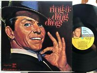 Frank Sinatra ~ Ring-a-ding ding   1961 1st Press   Vinyl=EX   Cover=EX (D)