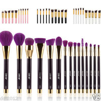 15pcs Foundation Blending Brush Kabuki Makeup Brushes Set Cosmetics Tool Brushes