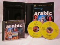 Teach Yourself Arabic 2 CD and Book Hodder and Stoughton Language