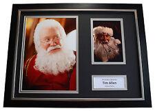 Tim Allen SIGNED FRAMED Photo Autograph 16x12 display Santa Clause AFTAL & COA