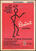 THE SAINT__Original 1981 Trade print AD / TV series promo / poster__ROGER MOORE