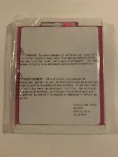 Blast Of Pink Dry Erase Memo Board w/ Designed Padding And Dry Erase Markers