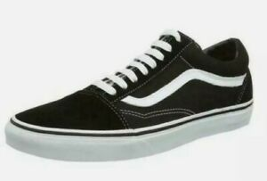 Vans Old Skool Men's Sport Shoes Black Size 10, 11, 12