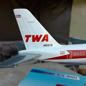 TWA Convair 880 Delivery Livery Diecast 1:200 Scale N815TW Inflight 200