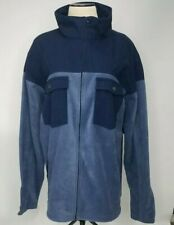 Columbia Sport Wear Company Mens Blue Size Extra Large Flannel Jacket