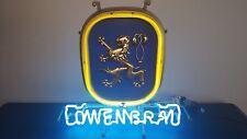 (Vtg ) 1979 Lowenbrau Beer neon light up sign bar pub Game Room man cave rare