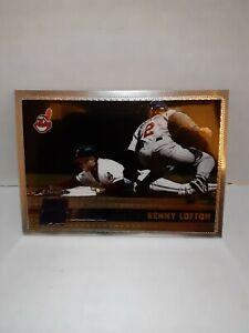 1996 Topps Chrome Baseball Card #164 Kenny Lofton