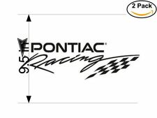pontiac racing 2 Stickers 9.5 Inches Sticker Decal