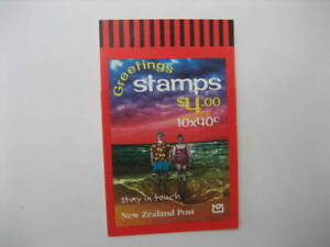 NEW ZEALAND 1998 $4 STAYING IN TOUCH   BOOKLET  SG SB 91/2148a