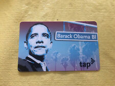 Limited Edition Los Angeles Barack Obama Metro Tap Card La 2019