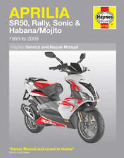 1993-2009 Aprilia SR50 SR 50 Rally Sonic Habana Mojito Scooter REPAIR MANUAL